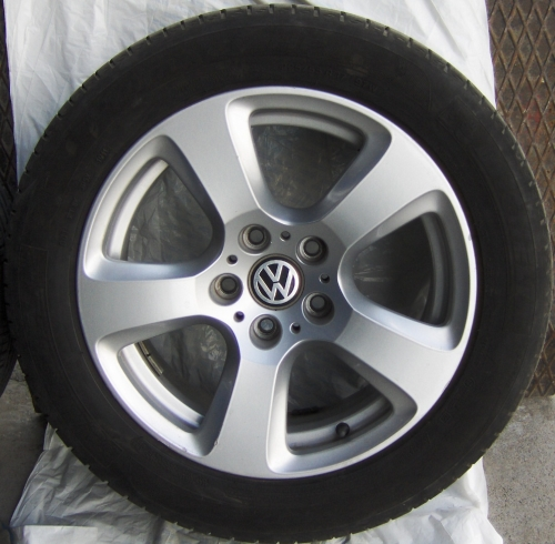 VW CARAVELLE 17J+LASTİK 5X120