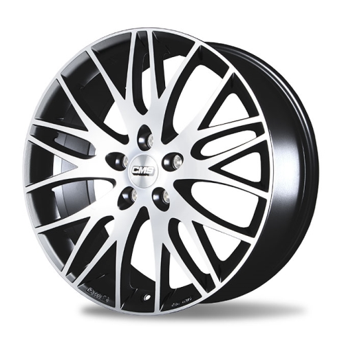 VOLKSWAGEN 17 JANT CMS 5X112 BLACKMACHINED
